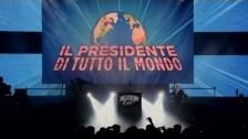 Max Pezzali 'Il presidente di tutto il mondo' music video