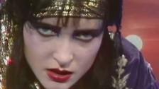 Siouxsie & The Banshees 'Arabian Knights' music video