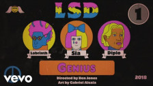 LSD 'Genius' music video