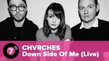 Chvrches 'Down Side Of Me (Live)' music video