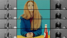 Lena Katina 'McDonald's' music video