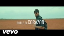 Enrique Iglesias 'Duele El Corazon' music video