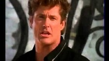 David Hasselhoff 'Until The Last Teardrop Falls' music video