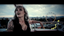 Kitty In A Casket 'Cold Black Heart' music video
