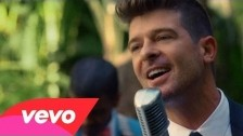 Robin Thicke 'Back Together' music video