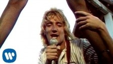 Rod Stewart 'Hot Legs' music video