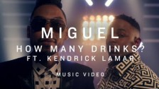 Miguel 'How Many Drinks' music video