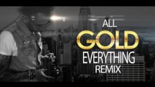 Sensato 'All Gold Everything Remix' music video