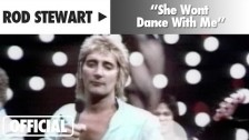 Rod Stewart 'She Won't Dance With Me' music video