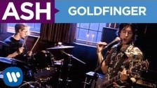 Ash 'Goldfinger' music video