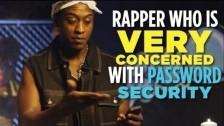 MC Safesearch 'Protect Ya Passwordz' music video