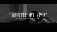 William Control 'When The Love Is Pain' music video