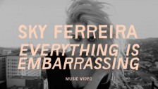 Sky Ferreira 'Everything is Embarrassing' music video