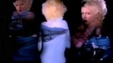 Cyndi Lauper 'I Drove All Night' music video