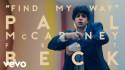 Paul McCartney 'Find My Way' music video