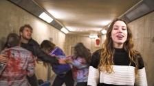Sarah Close 'Caught Up' music video