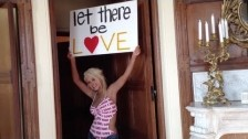 Christina Aguilera 'Let There Be Love' music video