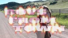 Alaska Reid 'Boys From Town' music video