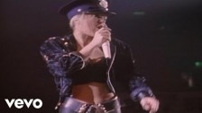 Lita Ford 'Can't Catch Me' music video