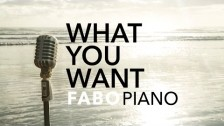 Fabo Piano 'What You Want' music video