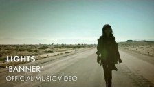 Lights 'Banner' music video