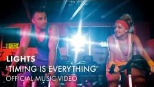 Lights 'Timing Is Everything' music video
