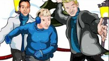 Backstreet Boys 'It's Christmas Time Again' music video