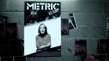 Metric 'Poster of a Girl' music video