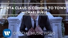Michael Bublé 'Santa Claus Is Coming To Town' music video