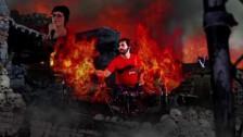 Iwrestledabearonce 'Danger In The Manger' music video