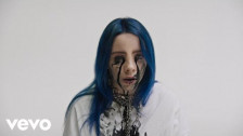 Billie Eilish 'when the party's over' music video