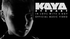 Kaya Stewart 'In Love With A Boy' music video