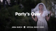 Anna Burch 'Party's Over' music video