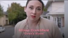 Allison Crutchfield 'Dean's Room' music video