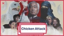 The Gregory Brothers 'Chicken Attack' music video