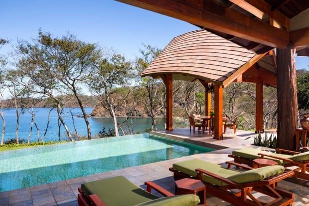 Pool Lounge at Four Seasons Costa Rica, Costa Rica