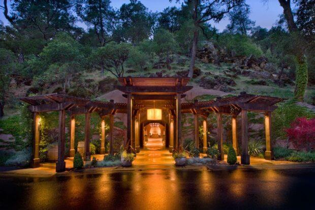 Wine Cave Dinner at Calistoga Ranch, Napa Valley, California - Photo Courtesy - CalistogaRanch