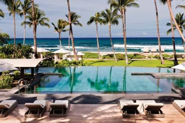 Courtesy Four Seasons Resort Hualalai, Hawaii