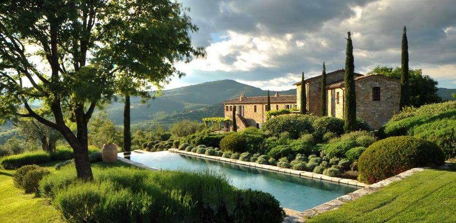 La dolce vita tuscan villas indagare for Tuscany villas