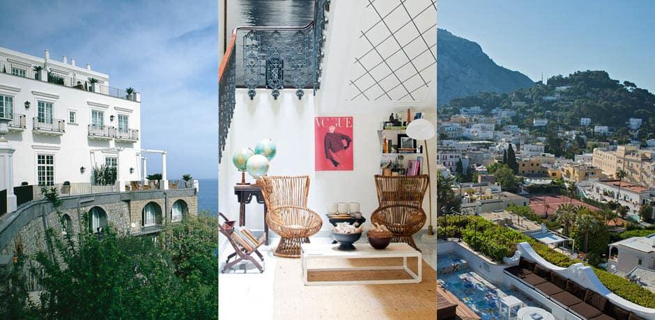 JK Place courtesy Alexander Haiden, Capri Tiberio Palace
