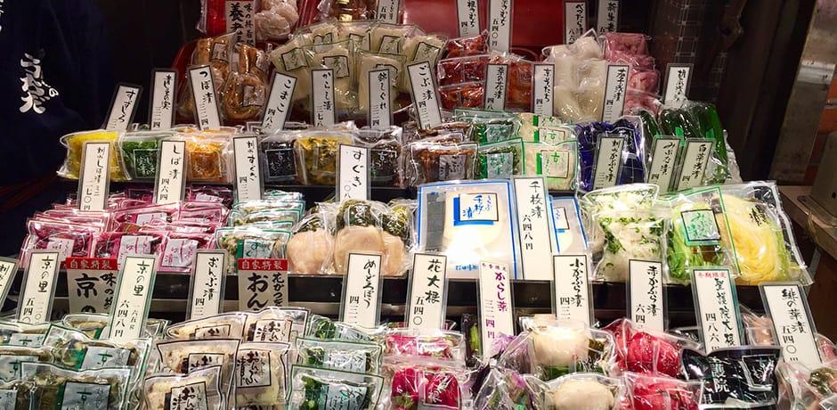 Exploring Nishiki Market