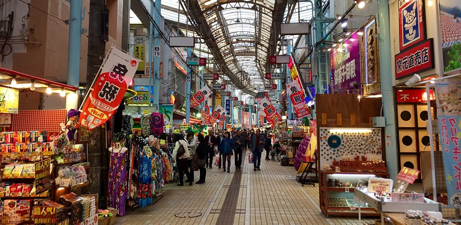 Strolling through Makishi Market in Naha
