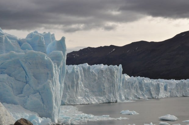 The Perito Moreno Glacier, one of only three in Patagonia that is still growing.