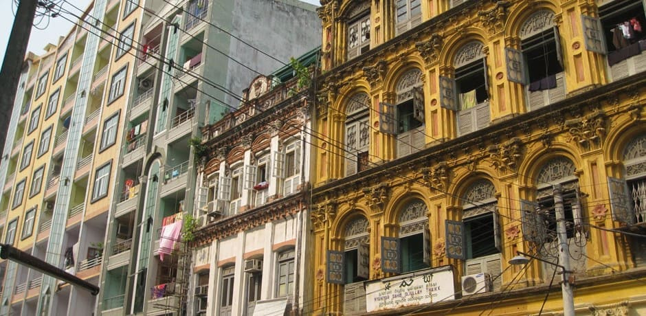 Along any city walk in Yangon, you catch glimpses of the crumbling grand colonial buildings, which may or may not be preserved as foreign investment pours into the city.