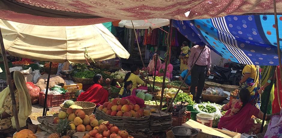 One of India's many fabulous markets
