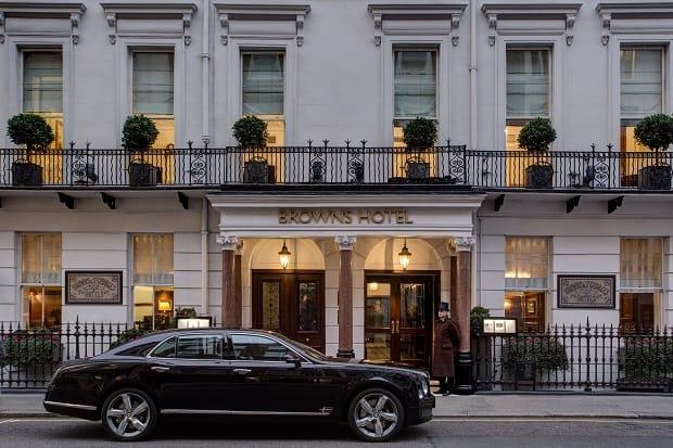 Brown's Hotel, London