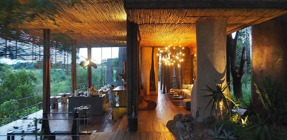 Singita Lebombo's unique, contemporary design