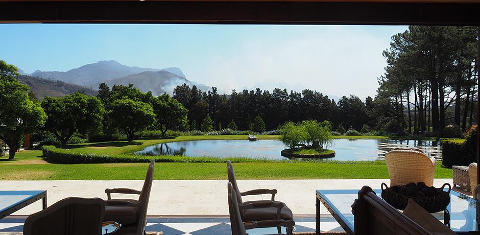 La Residence in Franschhoek Valley is a design-lover's dream