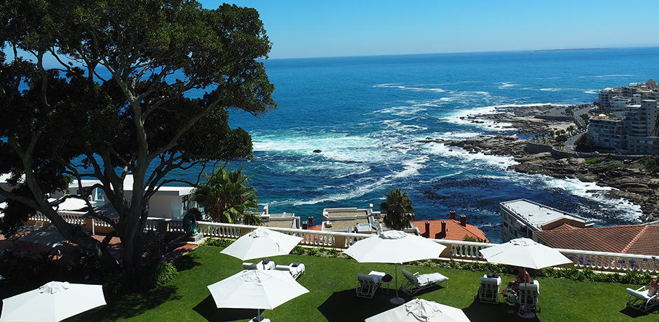 View from Ellerman House in Camps Bay