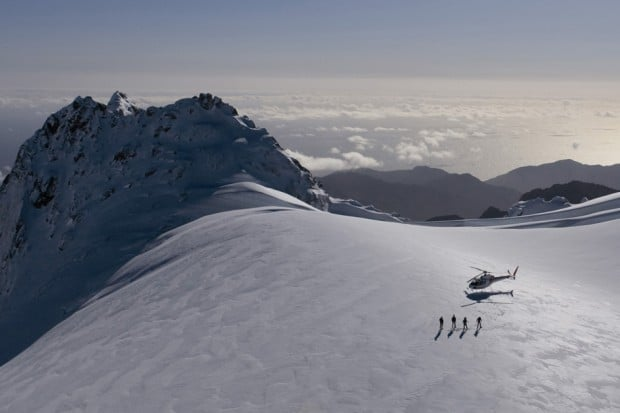 Courtesy Pure New Zealand, Fiordland Glacier Southern Lakes Helicopters